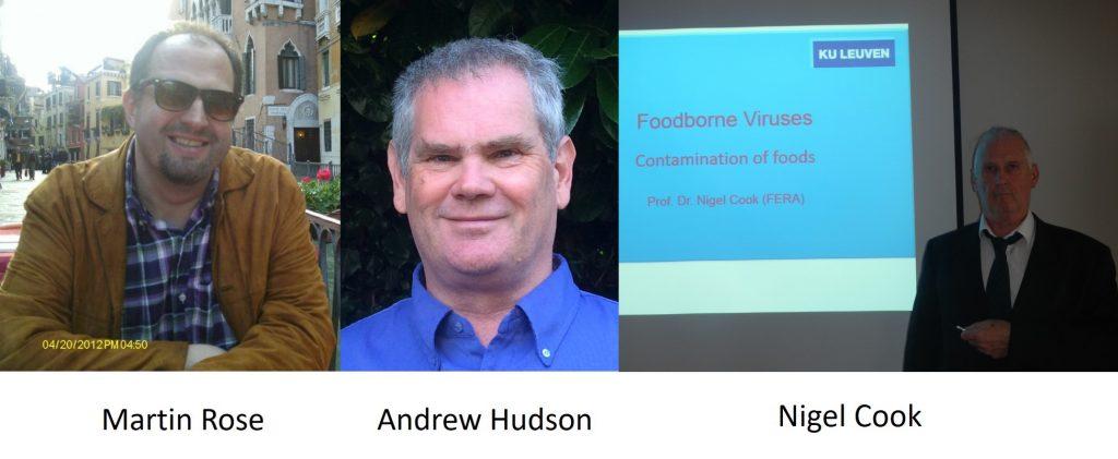 Andrew Hudson, Martin Rose, Nigel Vook